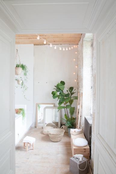 Les petites emplettes guirlande lumineuse chez moi en 2019 guirlande lumineuse guinguette - Guirlande lumineuse salon ...