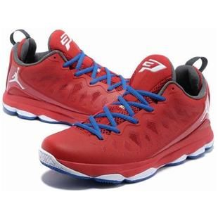 outlet store 08158 0af80 www.asneakers4u.com Jordan CP3.VIX Chris Paul Shoes Red Blue