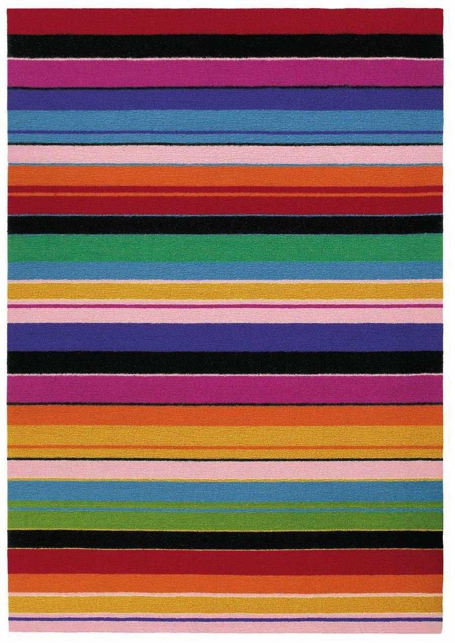 Bold Bright And Modern Striped Wool Rug Missoni Wichita At J Brulee Rugs Home Rugs Colorful Rugs
