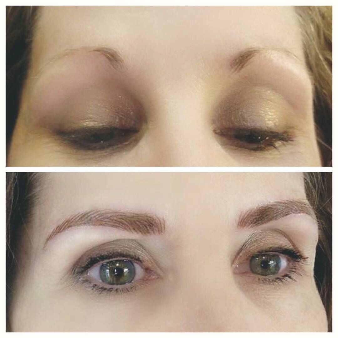 Eyebrow Microblading Feathertouch How To Fill In Brows Best Semi Permanent Makeup By Alana Everett Microblading Eyebrows Eyebrows Cosmetics Microblading