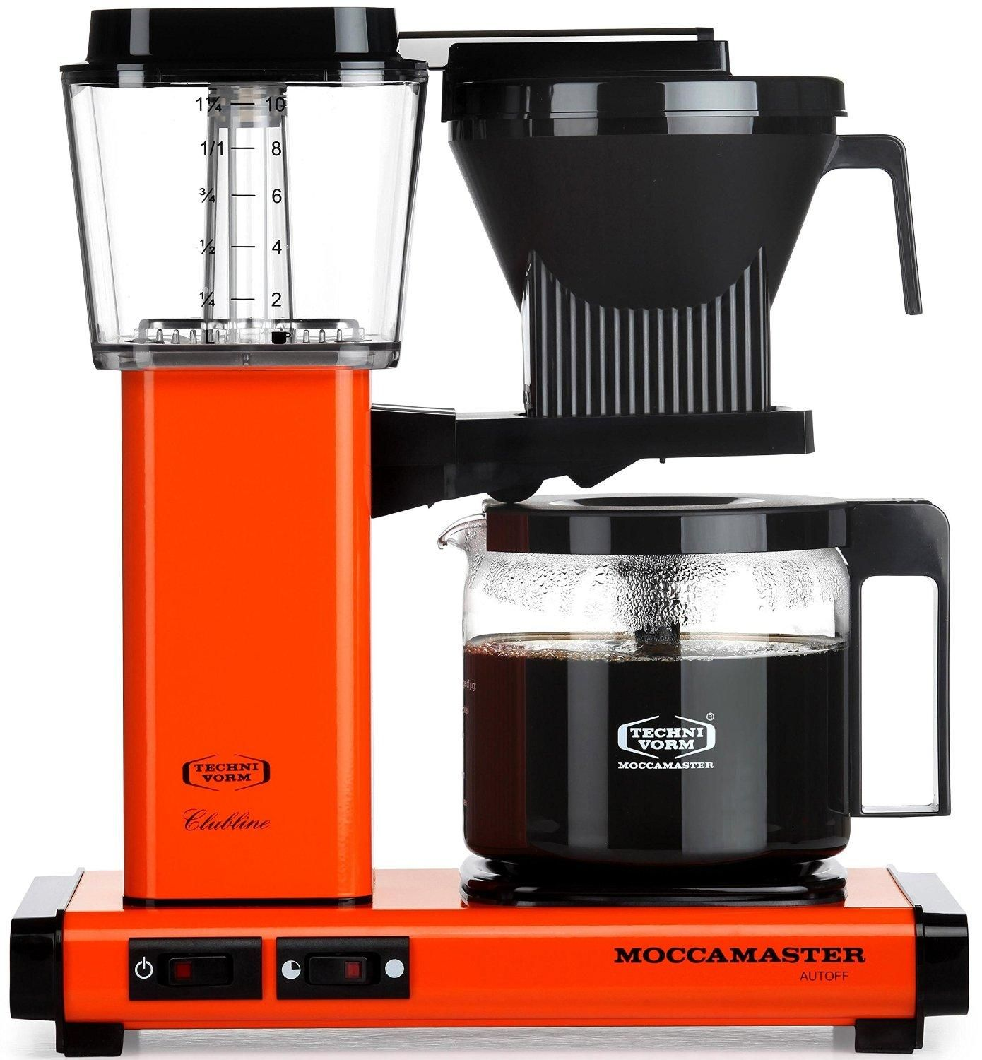 Moccamaster KBG 741 10Cup Coffee Brewer with Glass Carafe