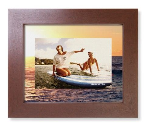 Picture in Picture Gallery of Two Framed Print, Brown, Contemporary, None, None, Single piece, 8 x 10 inches