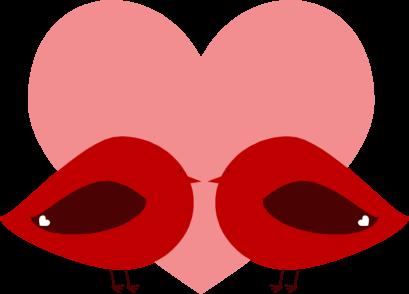 lovebird graphic