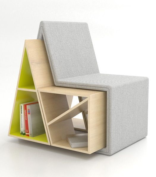 17 Innovative Bookcase Chair Designs