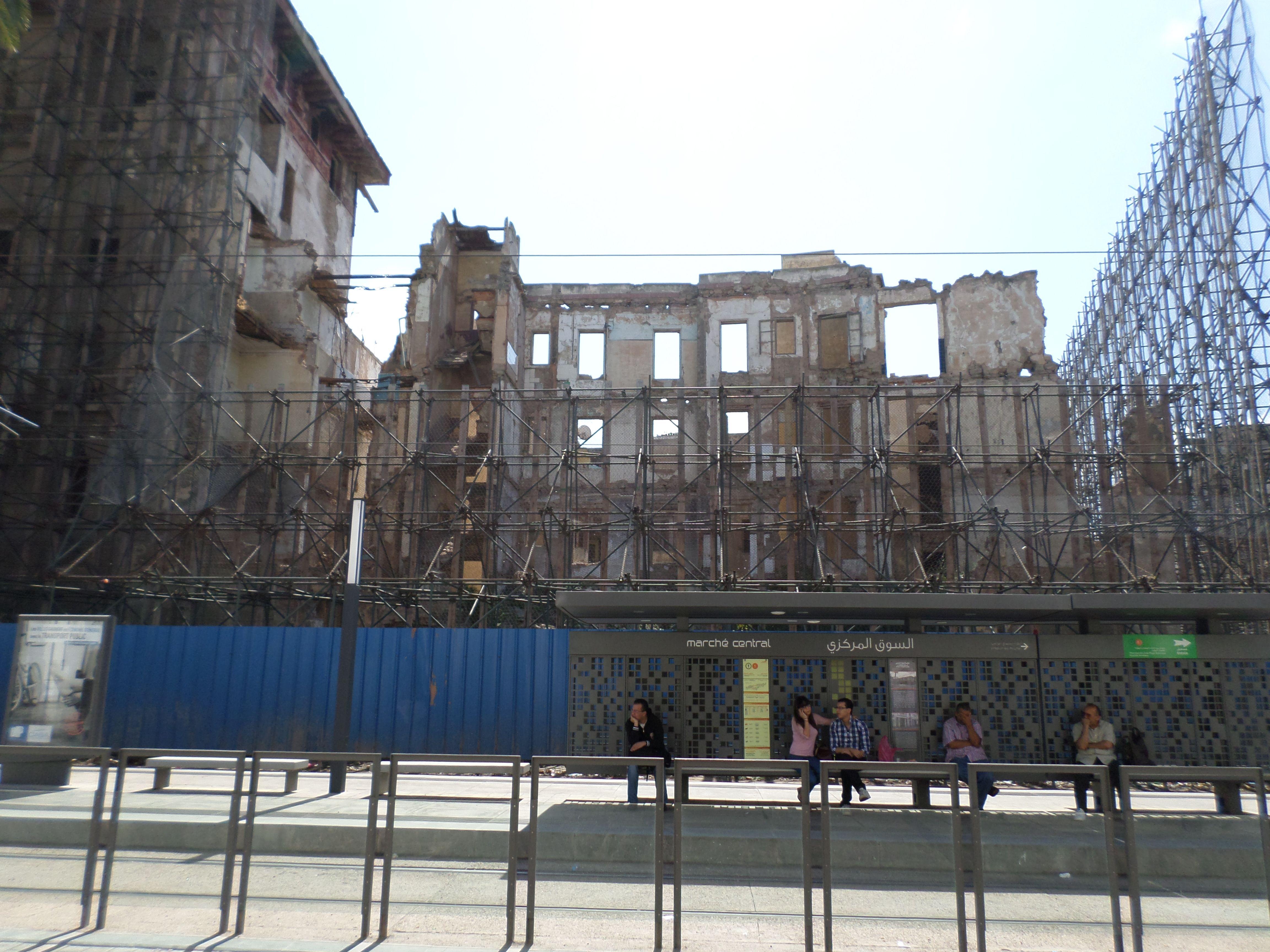 Les Ruines De L Hotel Lincoln Maroc Ruines