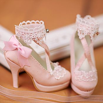 1//6 Scale Fashion Female Doll Cloth Accessories High Heel Ankle Boots Sandals