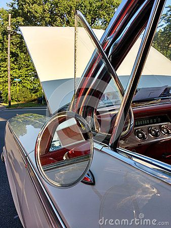 Detail Of A Classic Car Featuring The Driver S Side Wing Mirror Also Known As The Side View Mirror Fender Mirror Or D Wing Mirrors Classic Cars Car Features