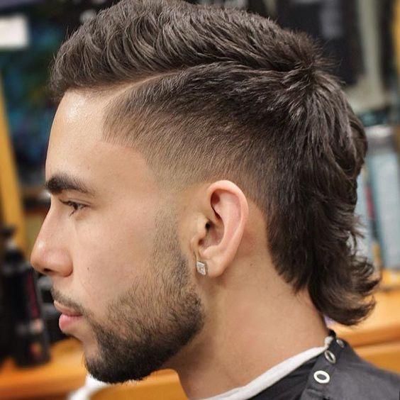 Taper Fade Haircuts For Men Mullet Haircut Mullet Hairstyle Mens Haircuts Fade