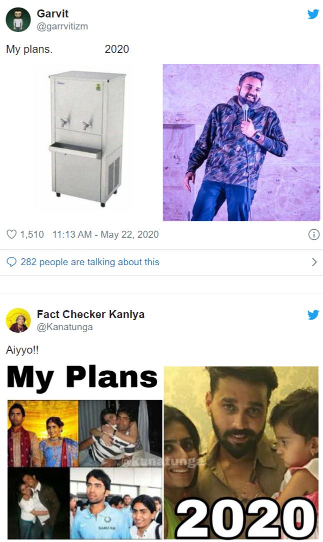 Here Is My Plan vs 2020 As Memes