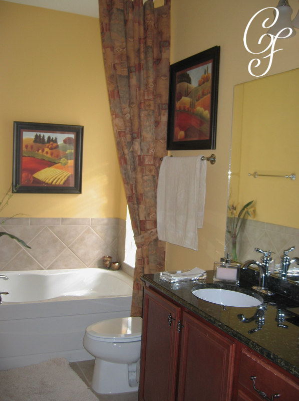 Decor By Carol FIsher Interior Design Orlando Bathrooms