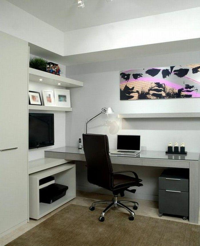 1001 Tolle Ideen Wie Sie Ihr Arbeitszimmer Gestalten Konnen Modernes Homeoffice Luxus Moderne Hauser Buroraumgestaltung