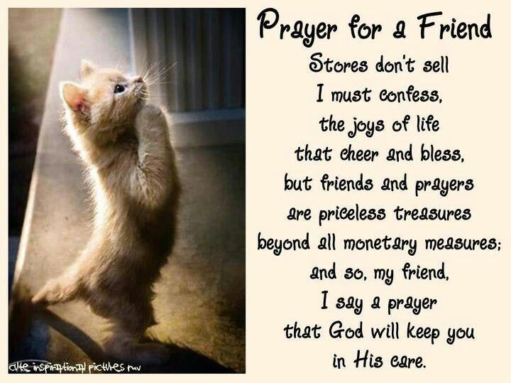 Prayer for a friend word of god pinterest inspirational prayer for a friend thecheapjerseys Choice Image