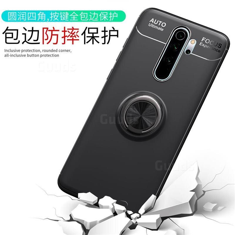 Auto Focus Invisible Ring Holder Soft Phone Case For Mi Xiaomi Redmi Note 8 Pro Black Xiaomi Redmi Note 8 Pro Cases Guuds Phone Ring Ring Holder Cell Phone Store