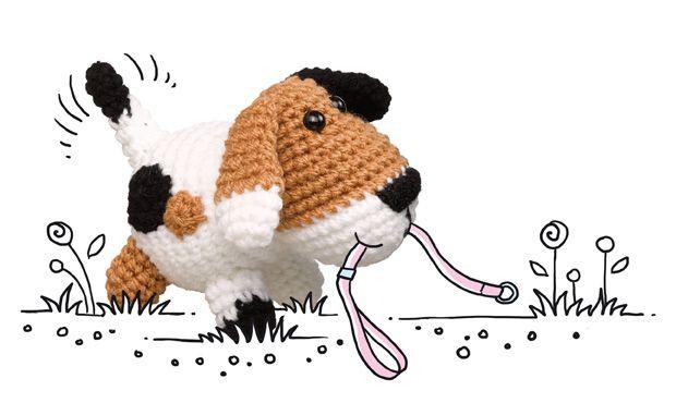 Häkelmuster: Hund häkeln – so geht's!