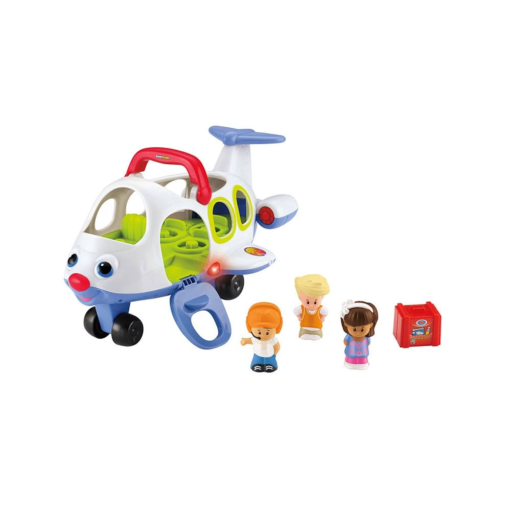 Fisher-Price Little People Lil\' Movers Airplane - English Edition ...