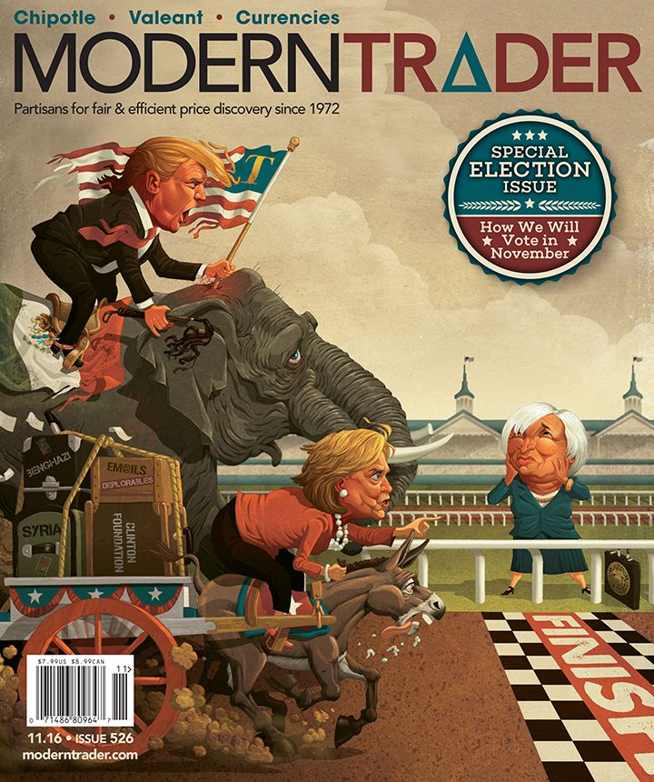 Cover art done for Modern Trader Magazine-Nominated for the Best ...