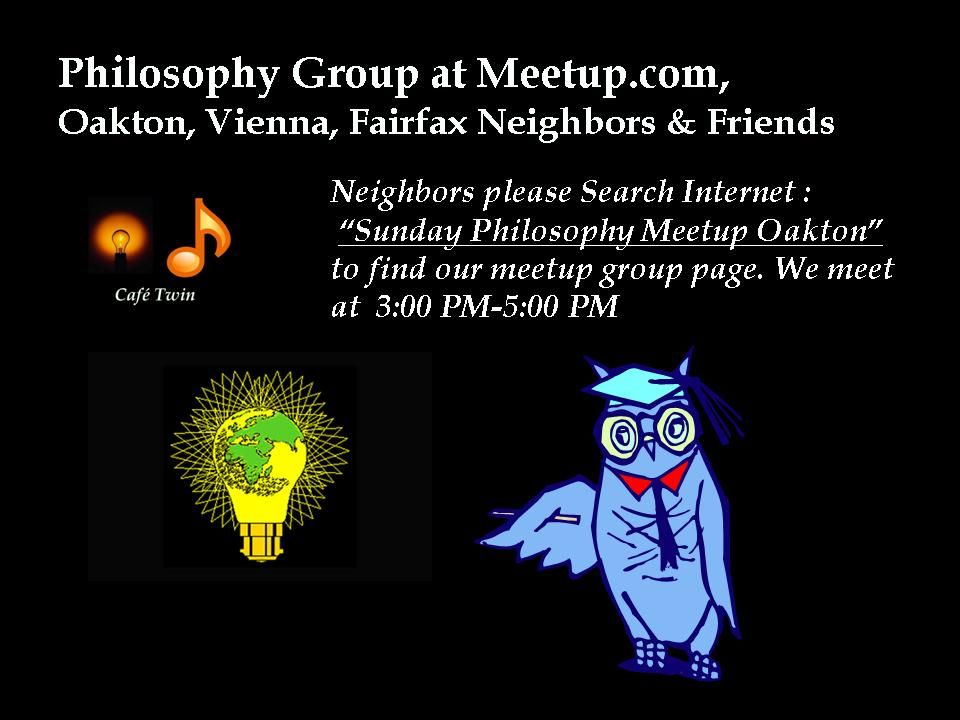 Sunday Philosophy Discussion Group | Philosophy Meetup Group