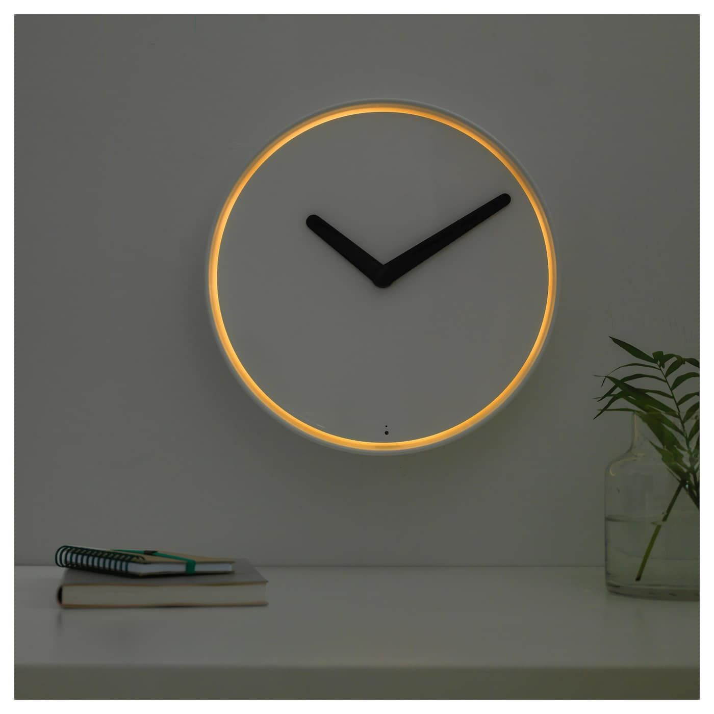 Ikea Us Furniture And Home Furnishings Wall Clock Design Wall Clock Light Wall Clock