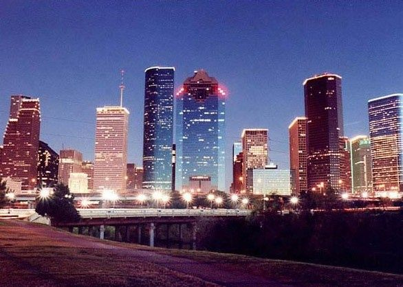 Houston, TX skyline | Houston texas skyline, Vacation ...
