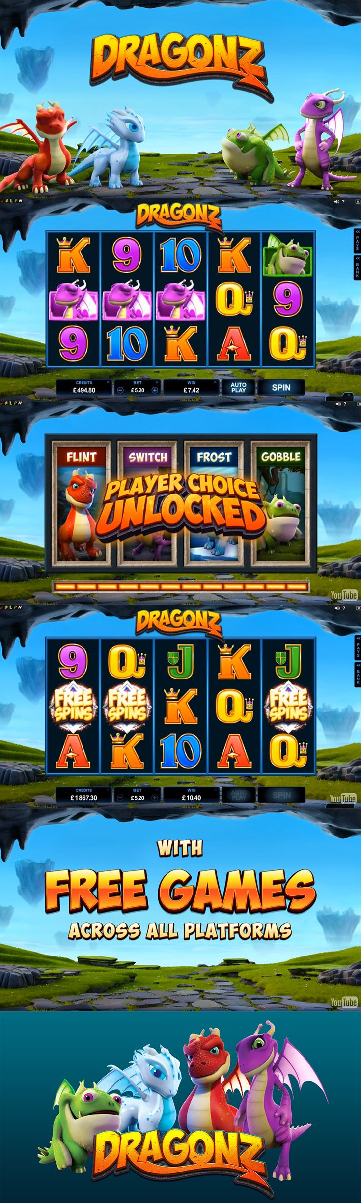 Microgaming Releases New Dragonz slot - Play it Today