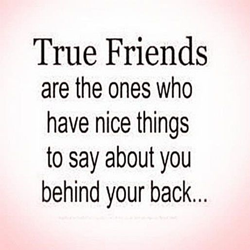 True Friends Are The Ones Who Have Nice Things To Say About You Adorable Nice Quotes About Friendship
