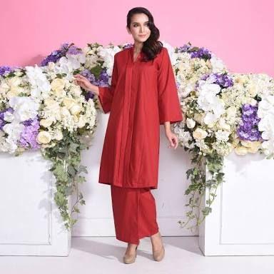 Image Result For Gambar Kebaya Malaysia Dress With Jean Jacket Hijab Dress Baju Kurung