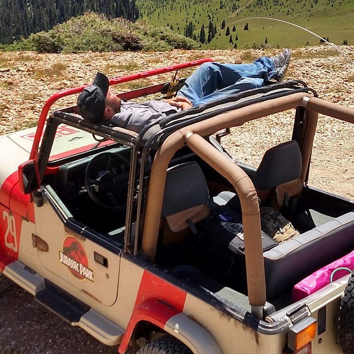 Jammock For Wrangler The Hammock For Your Jeep Jeep World