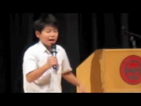 Grade 6 Student Council Winning Speech La Fille Pinterest - campaign speech example template