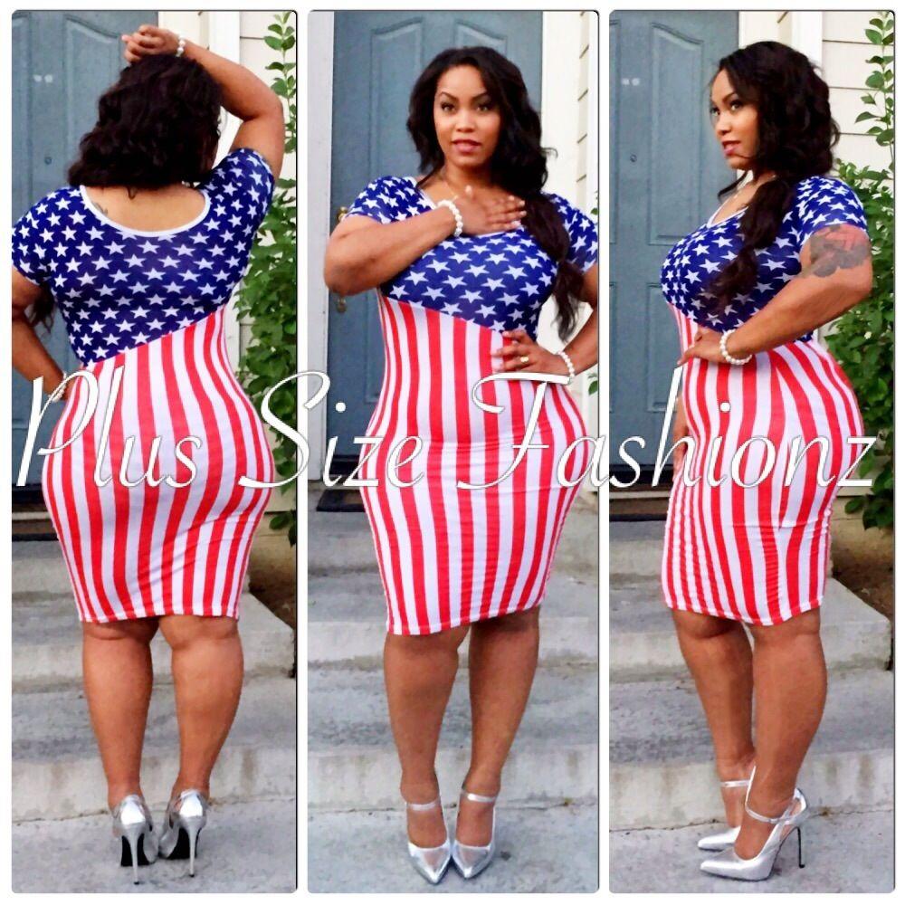 13++ Plus size 4th of july dress ideas in 2021