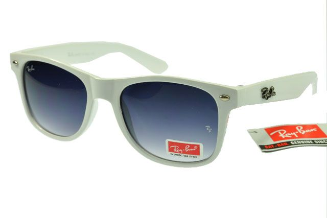 Ray-Ban Wayfarer 2140 White Frame Gray Lens RB1085 [RB-1095] - $14.80 : Cheap Sunglasses,Cheap Sunglasses On sale Like, Comment, Repin !!
