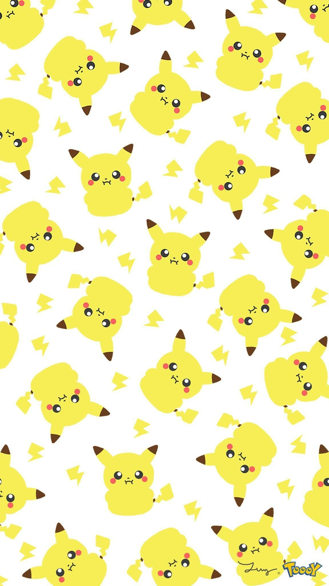 Pin By Kristian Ford On Kawaii Af Cute Pokemon Wallpaper Pikachu Wallpaper Pokemon Backgrounds