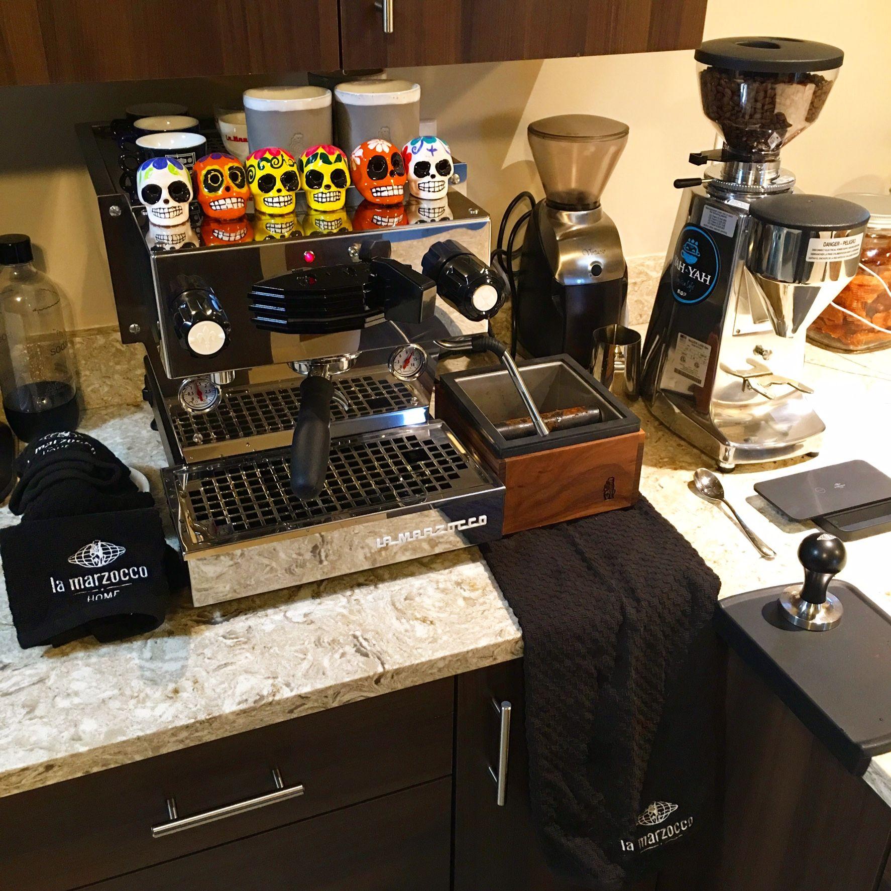La Marzocco Home Linea Mini and LuxD grinder Coffee