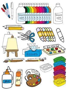 Classroom art. Clip ideas for education