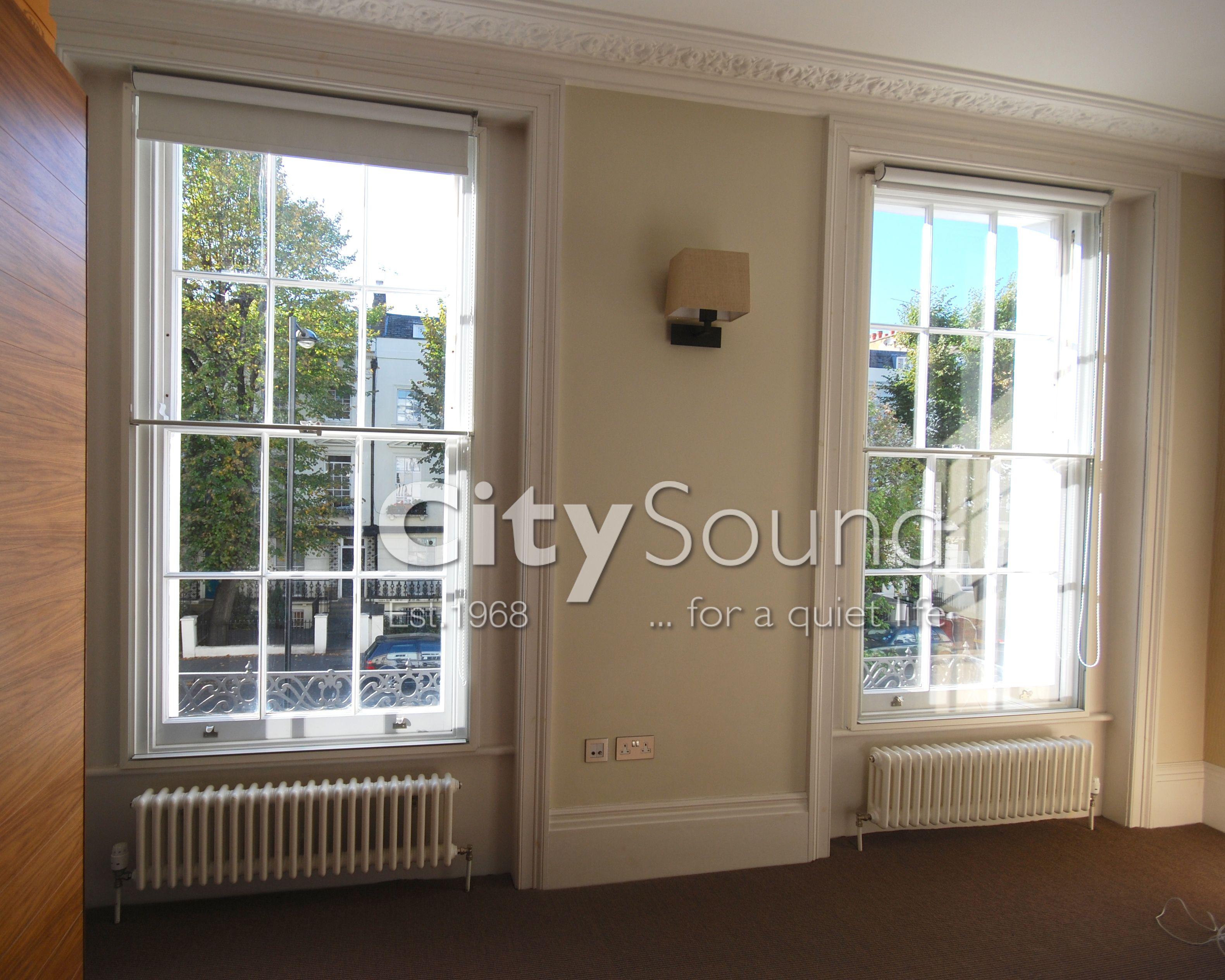 Secondary Glazing: Victorian sash windows. www.citysoundglazing.co.uk
