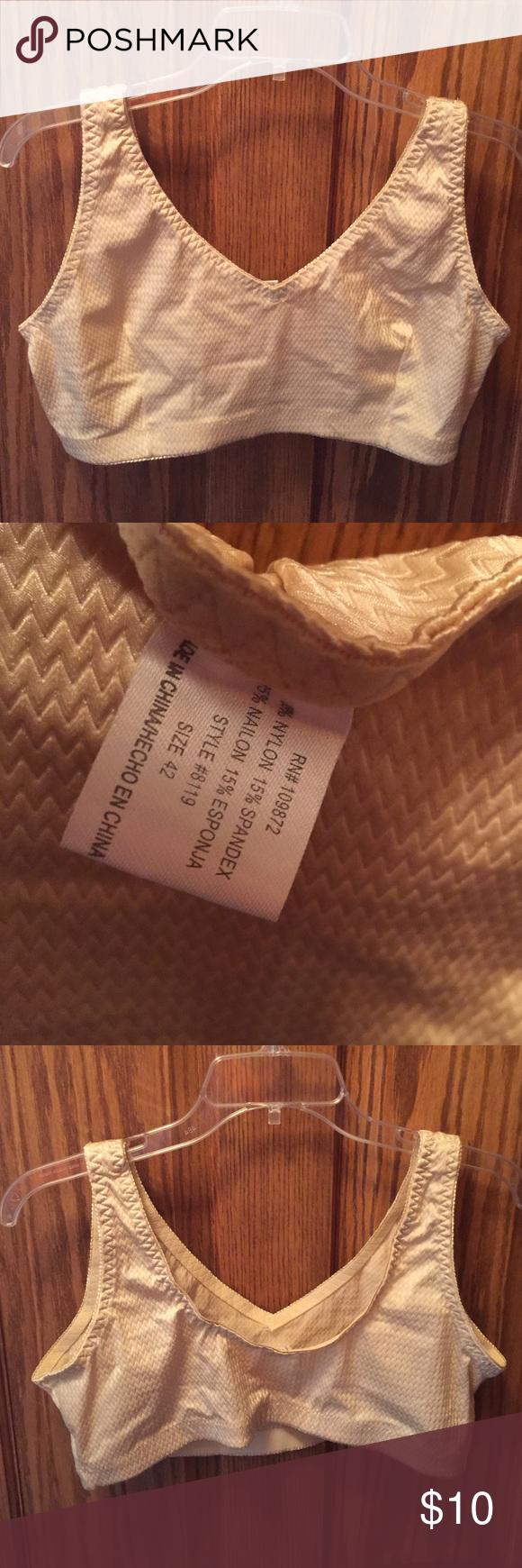 Nude Bra Women's nude bra, size 42, no padding, EUC. See photos. Thank you for looking! Intimates & Sleepwear Bras