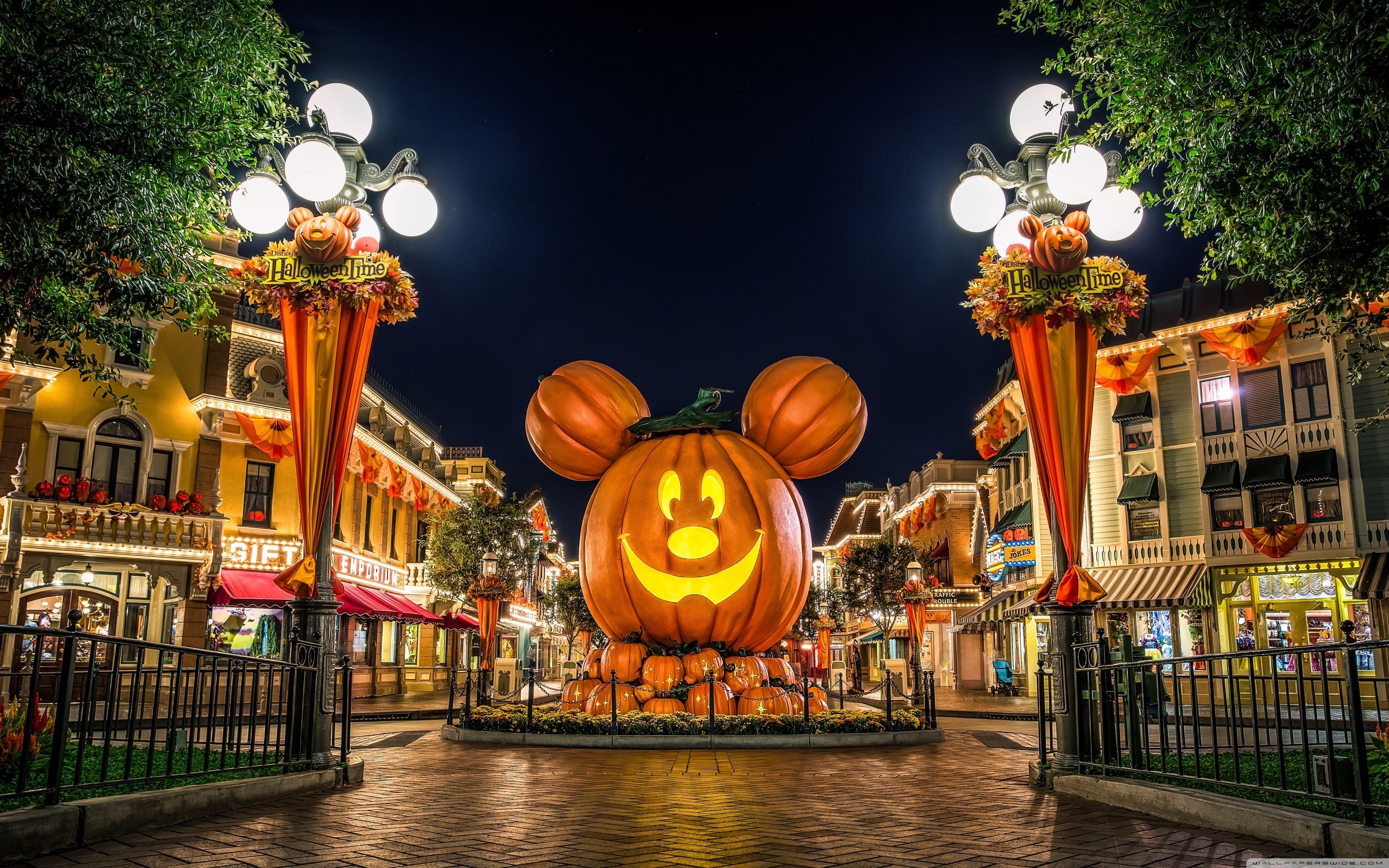 10 Latest Disney World Halloween Desktop Background Full Hd 1080p