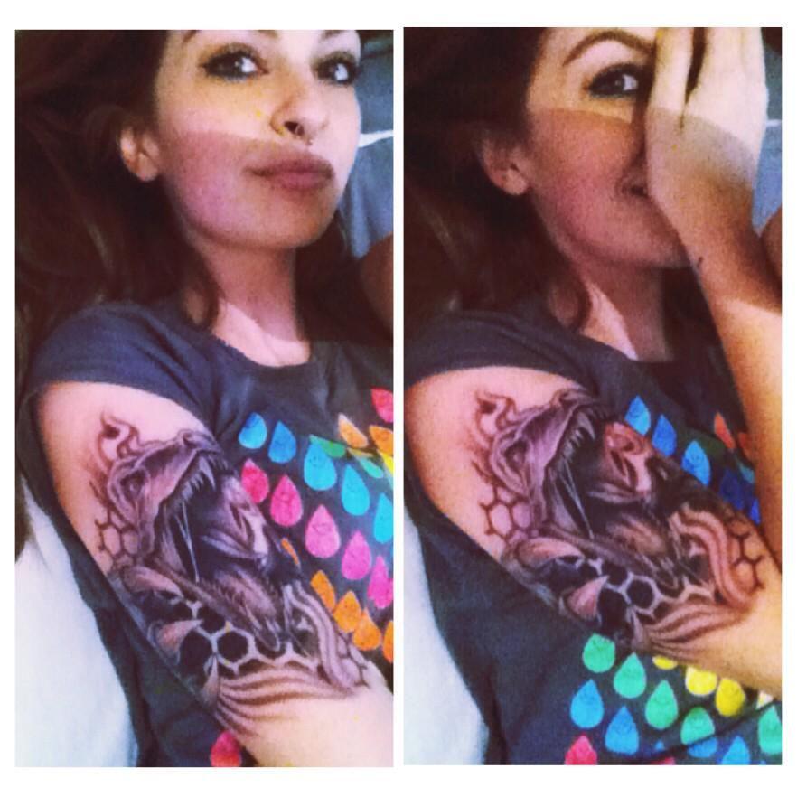 Tattoo number 4, Raptor