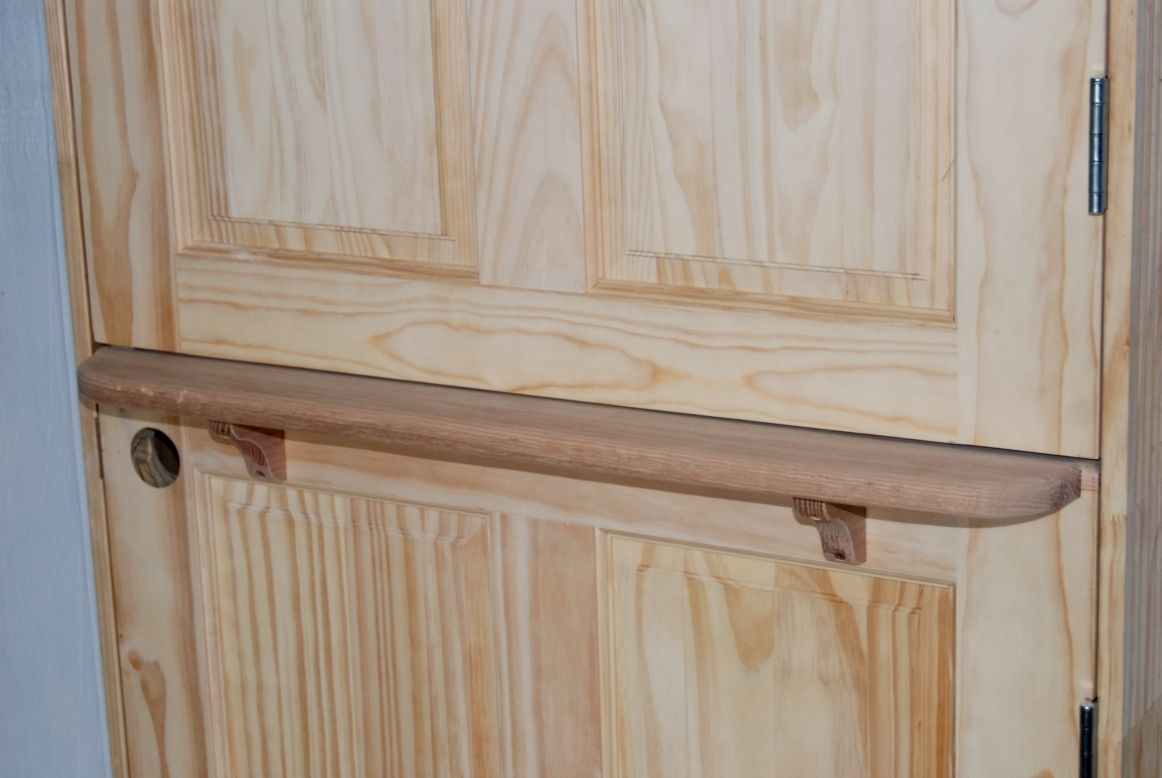 Oak Shelf Custom Wood Doors Shelves Dutch Door Build Your Own