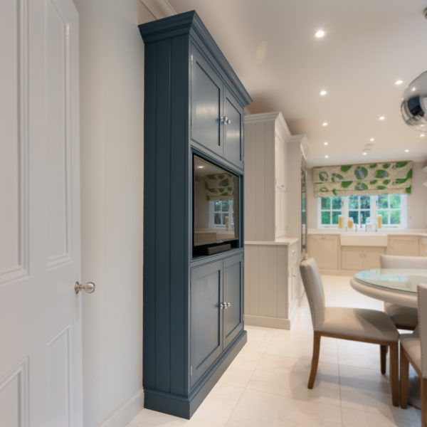 Best The Tv Cabinet Is Hand Painted In Stiffkey Blue From 400 x 300