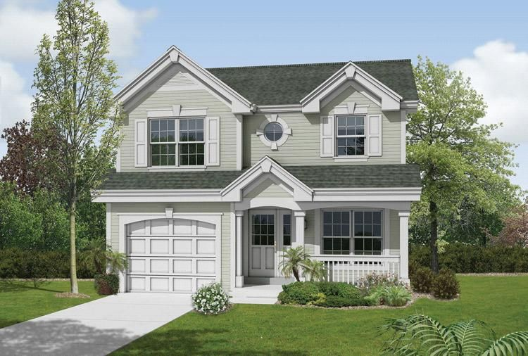 House Plan 40200873 Craftsman Plan 2,061 Square Feet