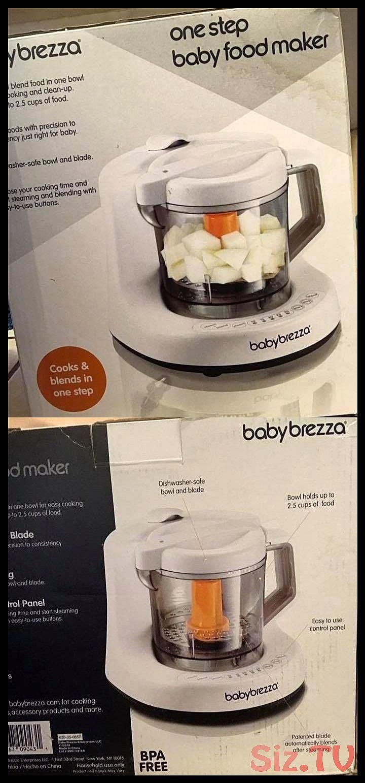 Baby brezza baby food maker machine one step steamer and