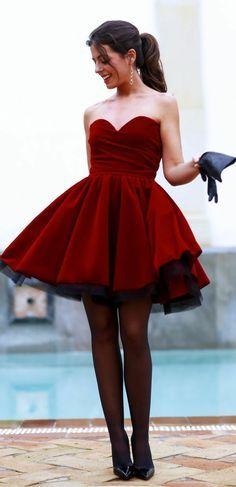 Chic robe de cocktail courte robes de soirée
