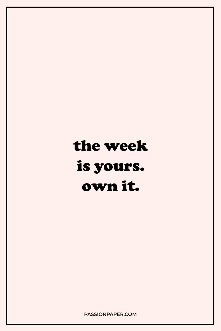 16 Best Monday Motivation Quotes 🤗 Start Your Week HAPPY