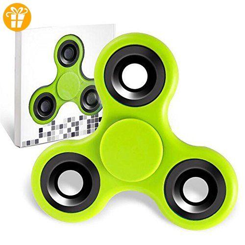 vcomp® Spinner Fidget Spielzeug Tri Fidget Hand Spinner für Erwachsene Kinder - Fidget spinner (*Partner-Link)