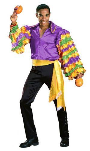 Rumba Adult Female Male Music Fancy Dress Costume One Size