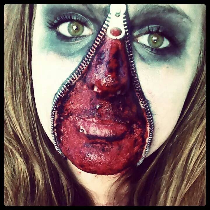 My zipper face from 2013, think it turned out pretty good!
