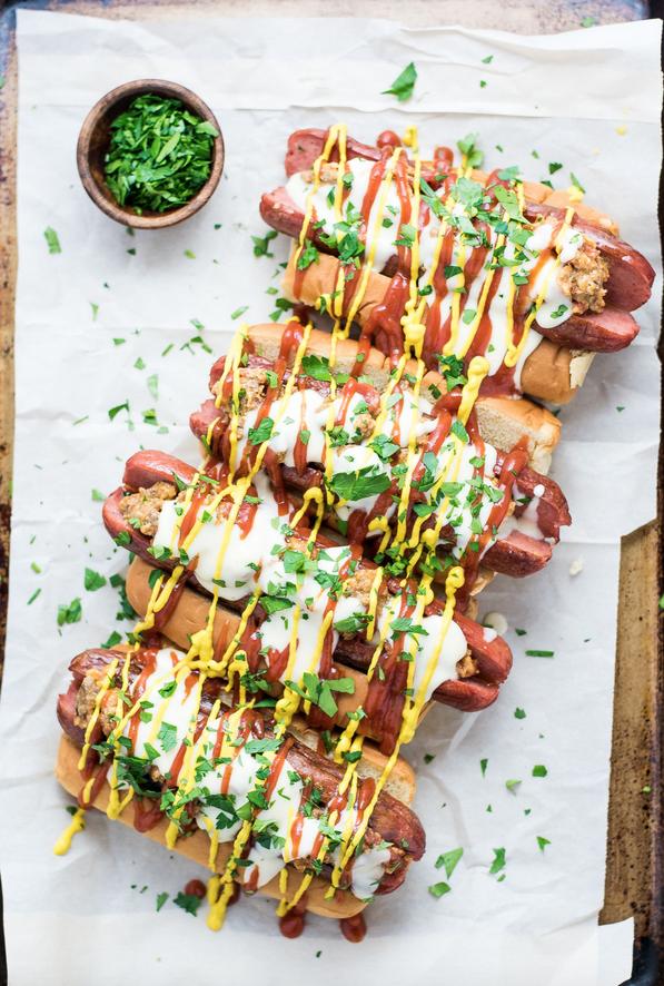 Bacon Cheeseburger Hot Dogs Recipe