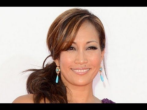 red carpet host and Dancing with the Stars judge, Carrie Ann Inaba. Started using 2 minute miracle gel at 42 instead of the knife!