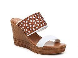 Italian Shoemakers Lady Wedge Sandal
