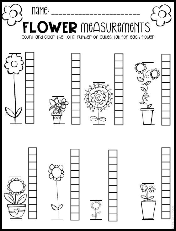 Spring Math And Literacy Worksheets For Preschool Is A No Prep Packet Packe Spring Math Worksheets Spring Math Kindergarten Kindergarten Spring Math Worksheets